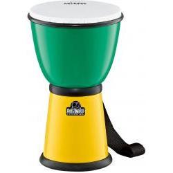 ABS-Djembe grün/gelb Nino