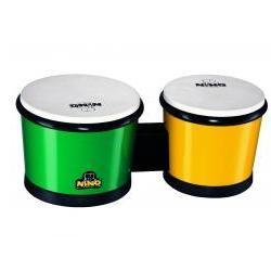 Bongo Kunststoff Grün und Gelb Nino