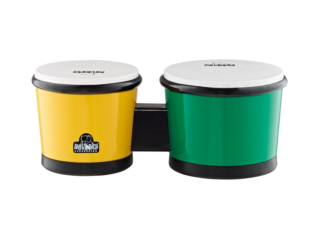 Bongo Kunststoff Grün/Gelb