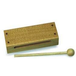 Nino21 Holzblock mit Schlägel Nino