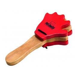Handkastagnette Holz Rot Nino
