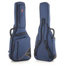 Premium-Tasche Westerngitarre blau Gewa