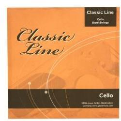 Classic-Line Cello-Saiten 3/4-Celli Gewa