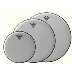 Schlagzeugfell Emperor White Suede 15 Zoll Remo
