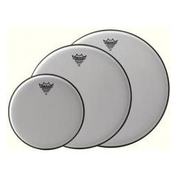 Schlagzeugfell Emperor White Suede 8 Zoll Remo