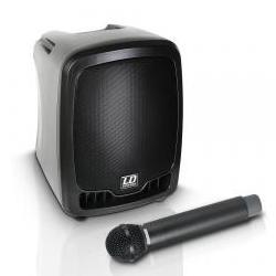 Roadboy-65 Batterielautsprecher mit Funkmikrophon LD Systems