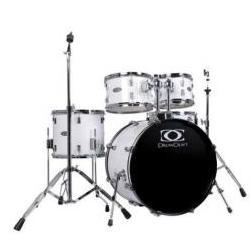 DC3-Progressive Drumset Snow-White Gewa