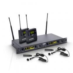 WIN42BPH2-Funksystem 2 Blasinstrumenten-Mikrofone LD Systems
