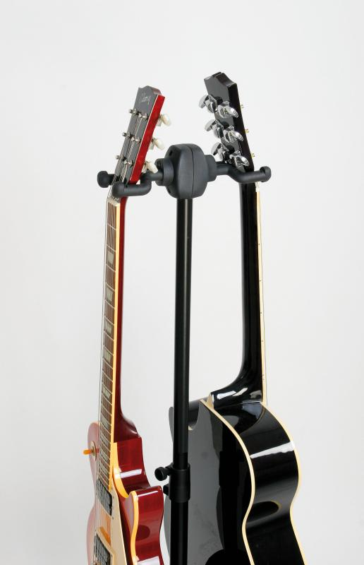 17620 2-Fach Gitarrenständer schwarz