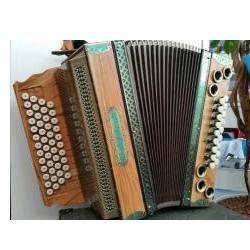 Harmonika Profi4PS 3-Chörig Bayerland