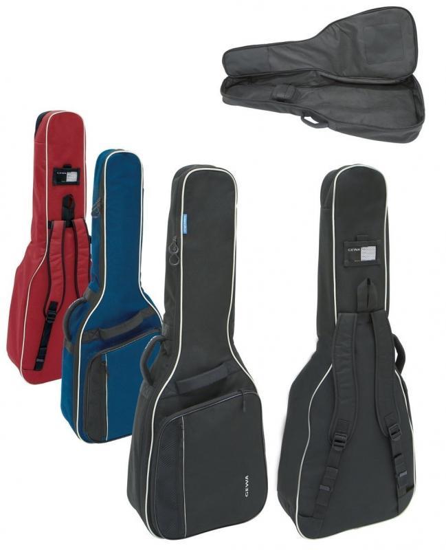 Tasche 1/2-Konzertgitarre blau