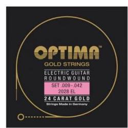 2028SL Goldsaiten E-Gitarre Optima