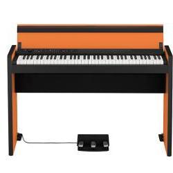 LP-380 Digital-Piano Orange-Black Korg