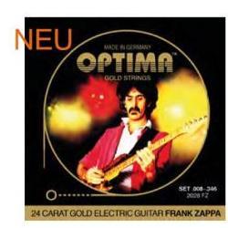 2028FZ Goldsaiten E-Gitarre Frank Zappa Optima