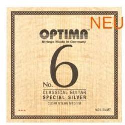 NO6SCMT Silbersaiten Konzertgitarre Optima