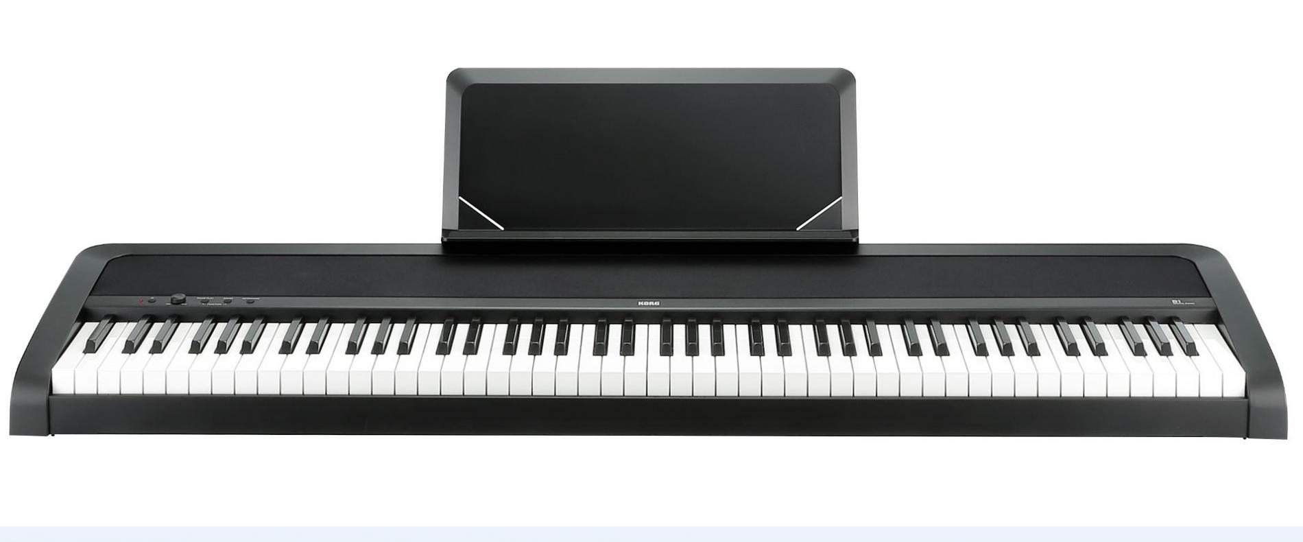 B1 Digital-Piano schwarz