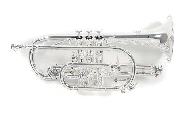 Bb-Kornett CR-302S Silber