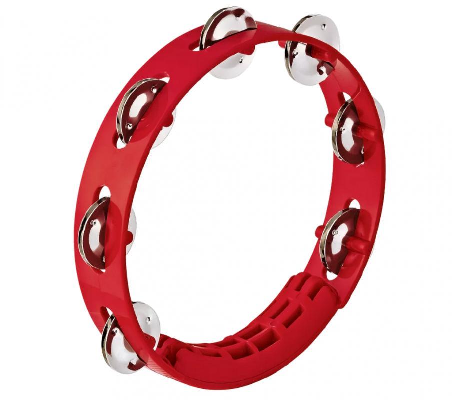 Tamburin Rot 8 Zoll