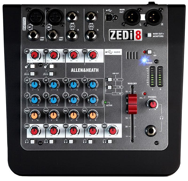 ZEDi8 Live- und Recording-Mischpult