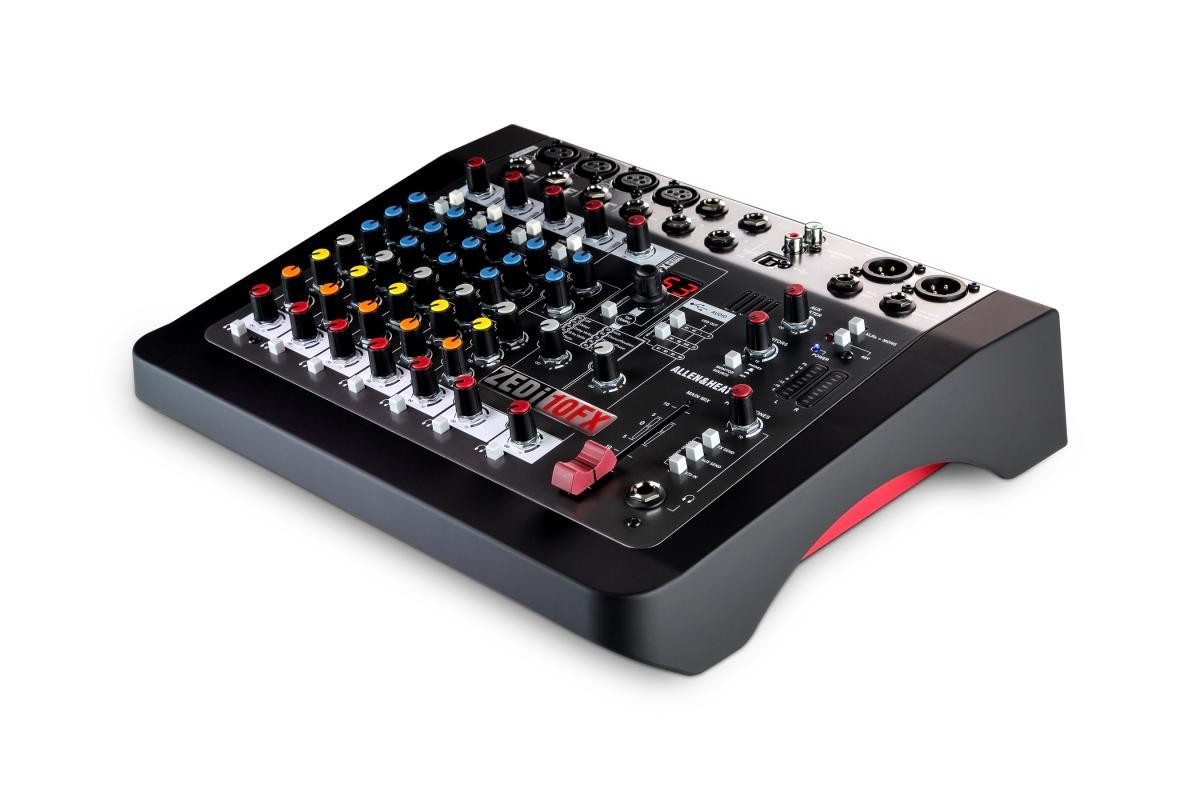 ZEDi10FX USB-Kompaktmischpult mit Audio-Interface