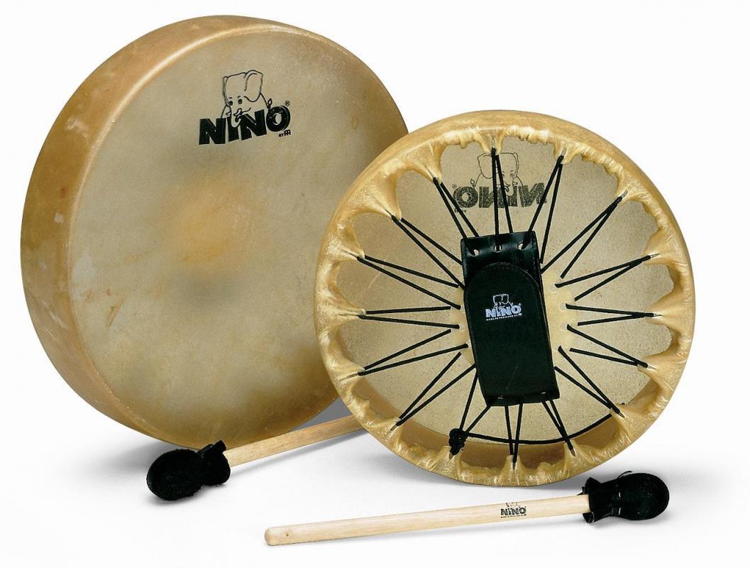 NINO553 Rahmentrommel 12,5 Zoll