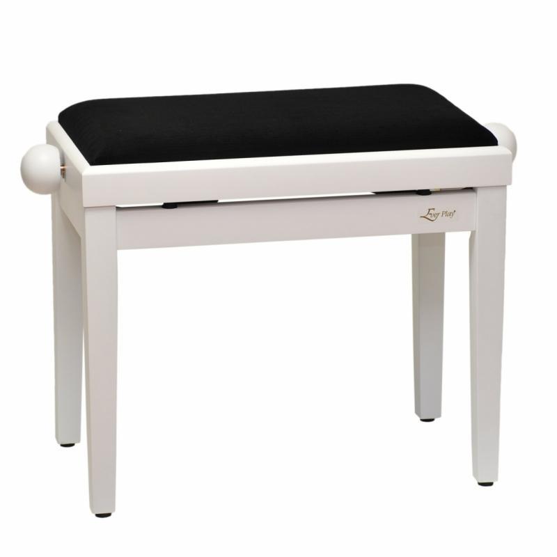 Pianobank Weiß