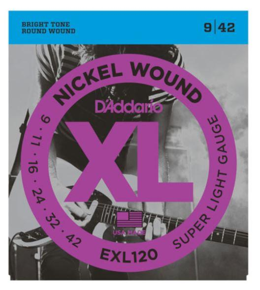 EXL120 Nickel-Wound Super-Light