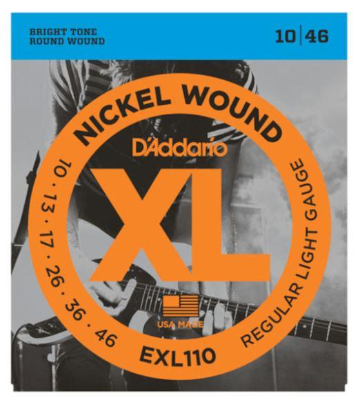 EXL110 Nickel-Wound Regular-Light