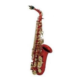 Rotes Alt-Saxophon AS-202R GEWApure