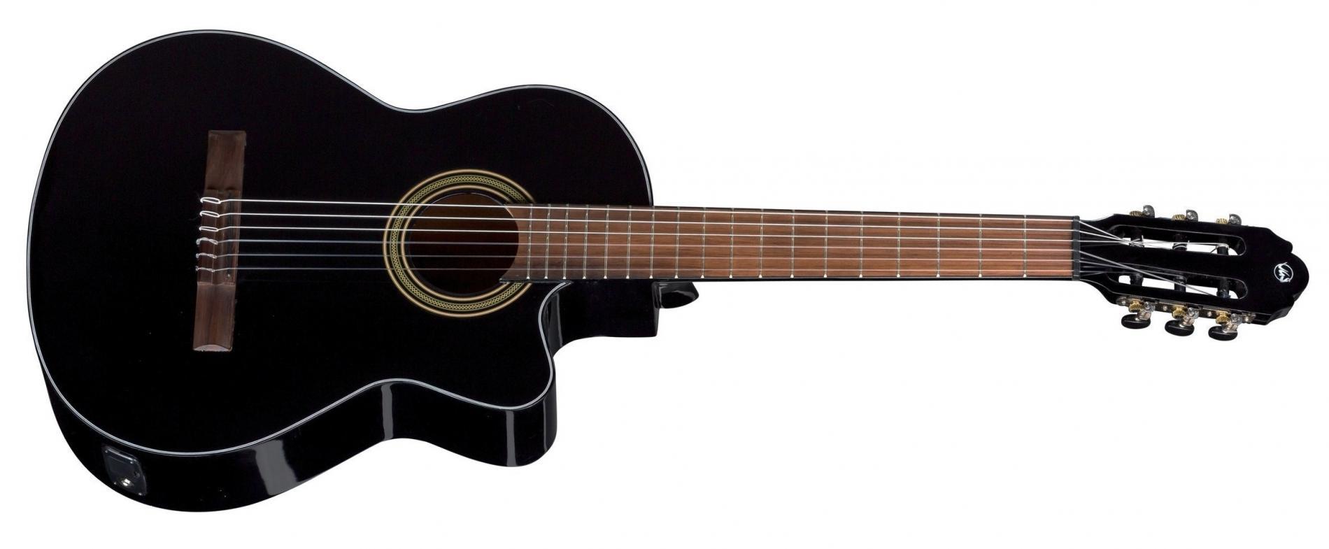 E-Akustik Konzertgitarre Cutaway