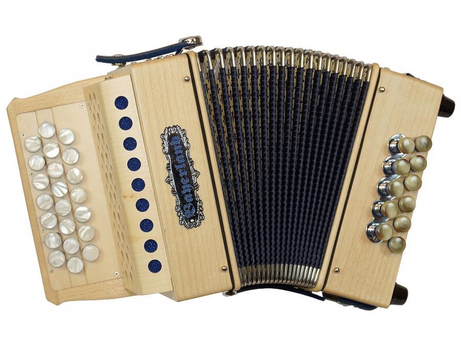 Mini-I Harmonika Ahorn