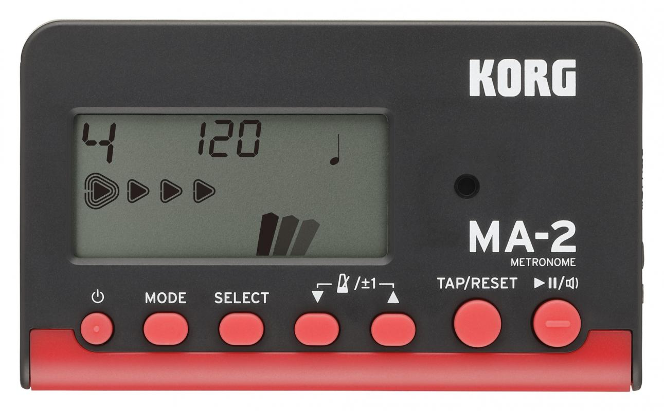 MA-2 Metronom schwarz/rot