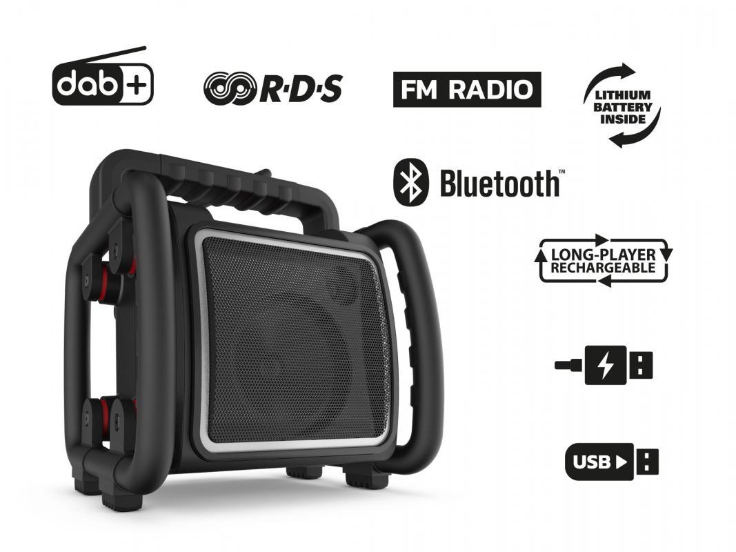 Teambox Baustellenradio