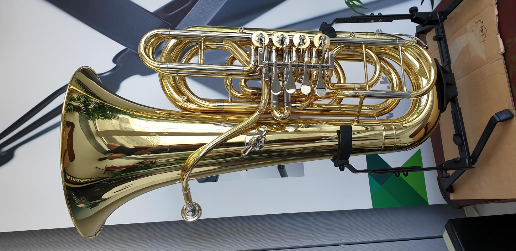 C-Tuba 3/4 Drehventile