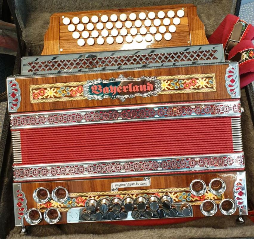 Harmonika Original Alpin-De-Luxe