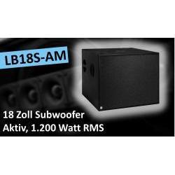 LB18S-AM Aktiver Subwoofer