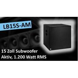 LB15S-AM Aktiver Subwoofer