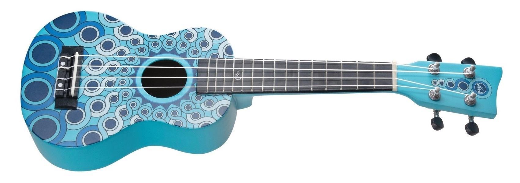 Manoa-Ukulele W-SO-MG Blau