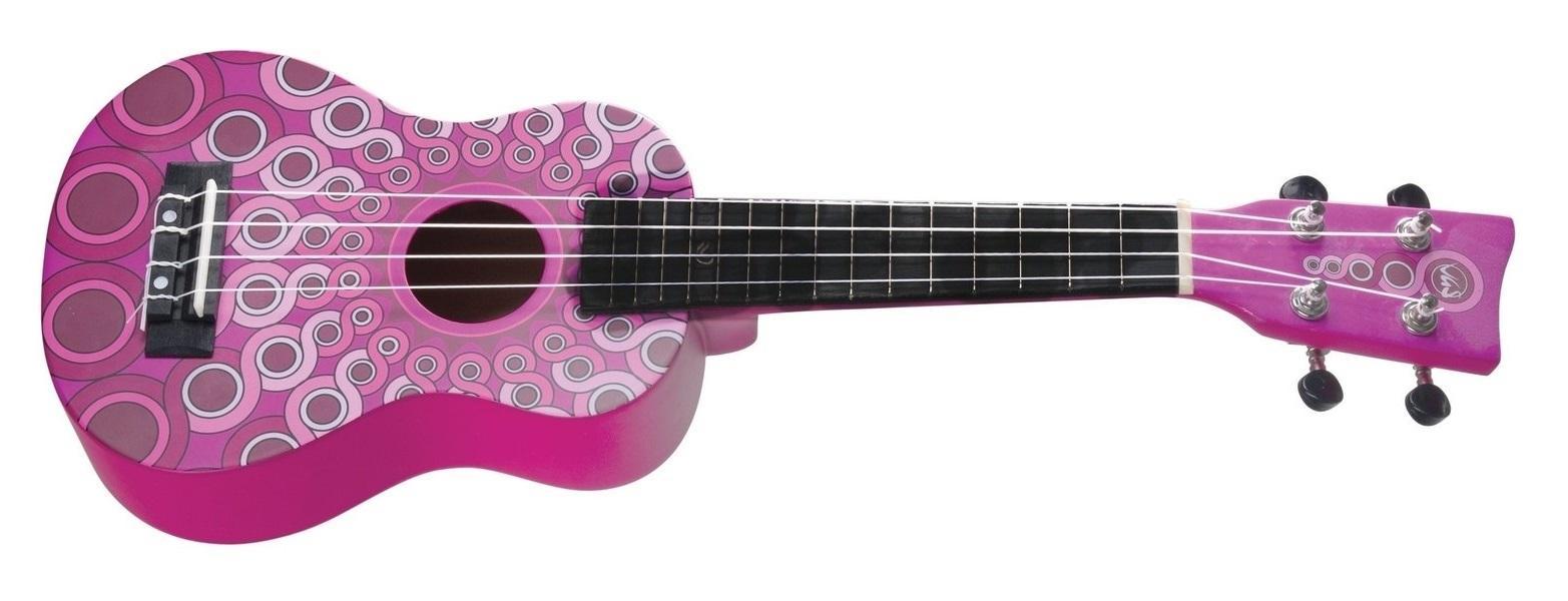 Manoa-Ukulele W-SO-MG Pink