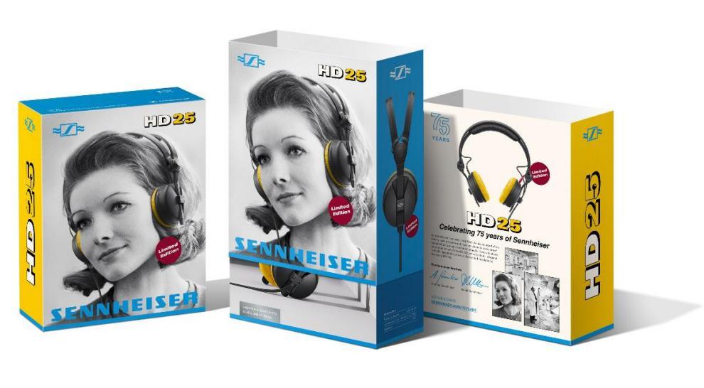 HD-25 Kopfhörer 75-Jahre Jubiläumsedition