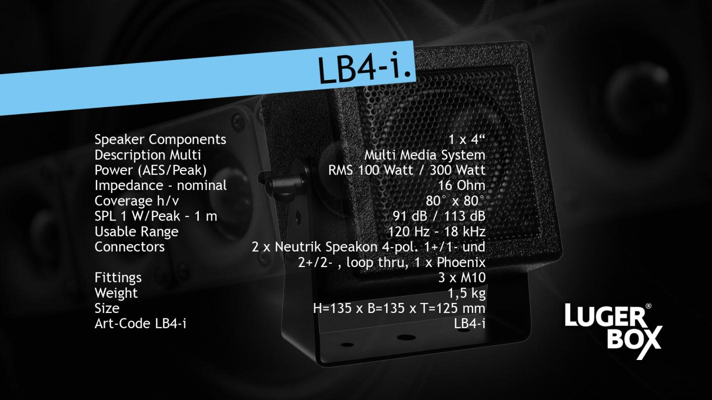 LB4-i Miniatur-Lautsprecher