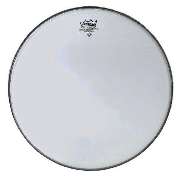 Schlagzeugfell 14-Zoll Ambassador Suede