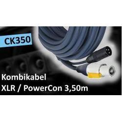 CK350 Combi-Kabel XLR/Powercon