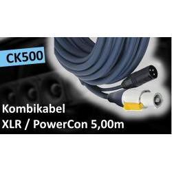 CK500 Combi-Kabel XLR/Powercon