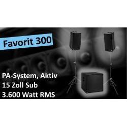 Favorit-300 Aktives PA-System