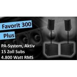 Favorit-300-Plus Aktives PA-System