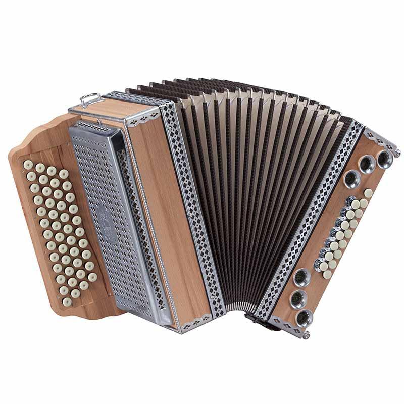 Steirische Harmonika Buche-Matt