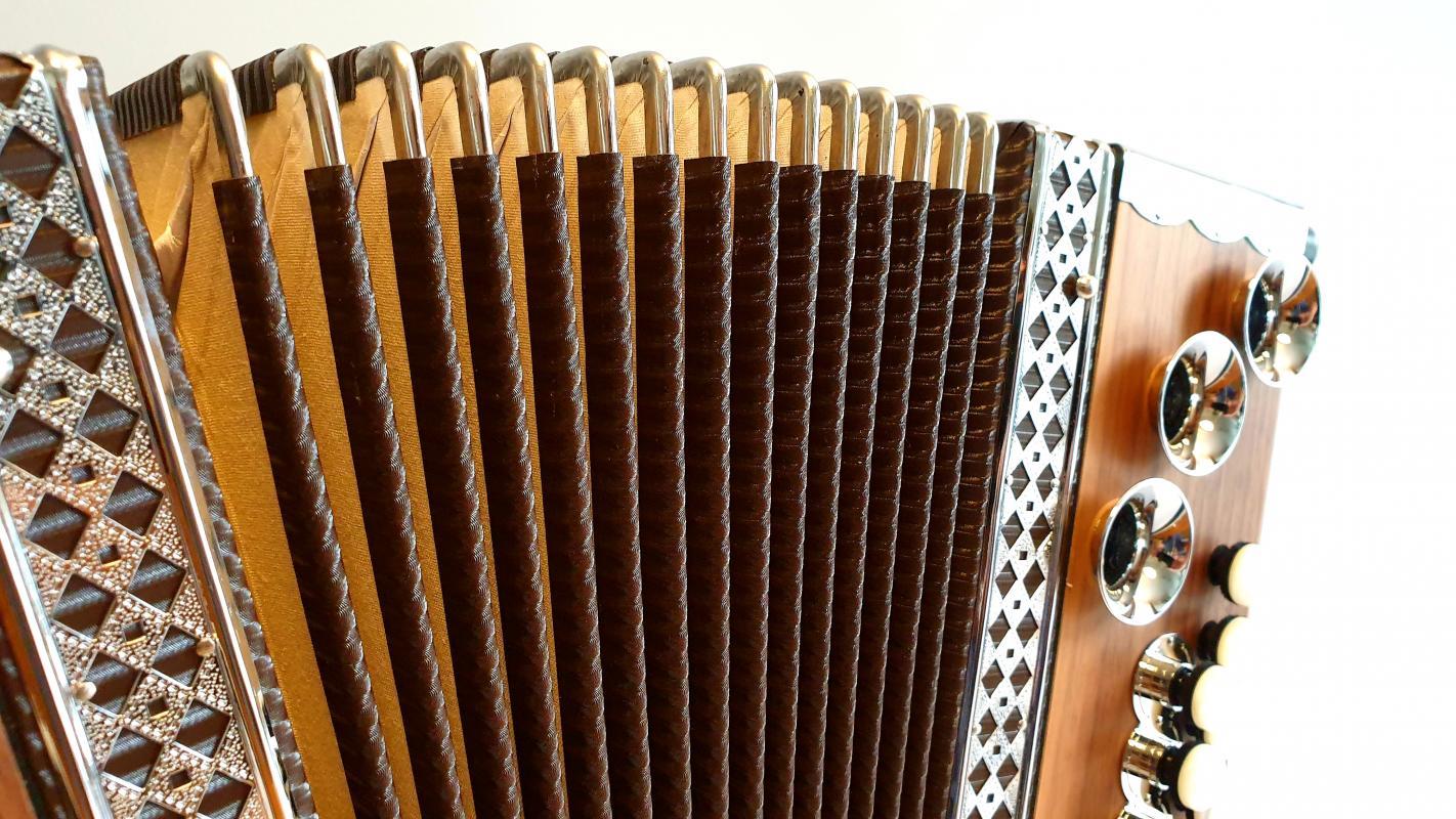 3-Reihige Schüler-Harmonika G-C-F