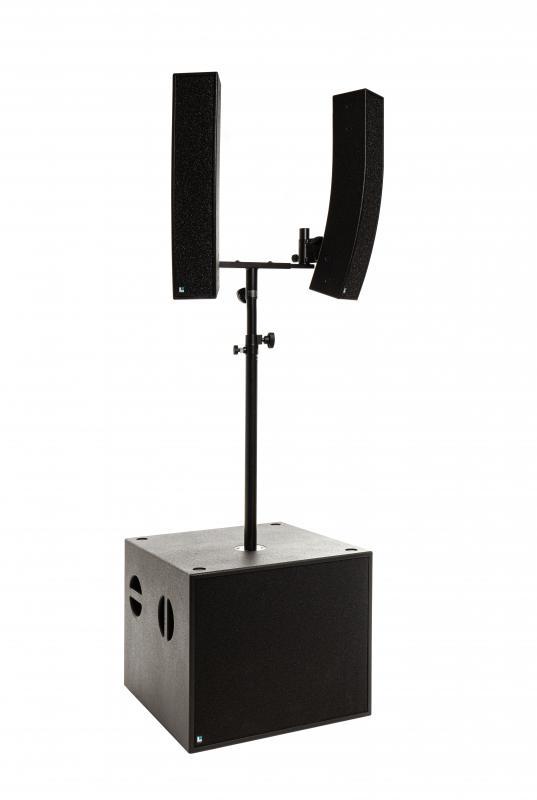 LB4-6  Curved Speaker