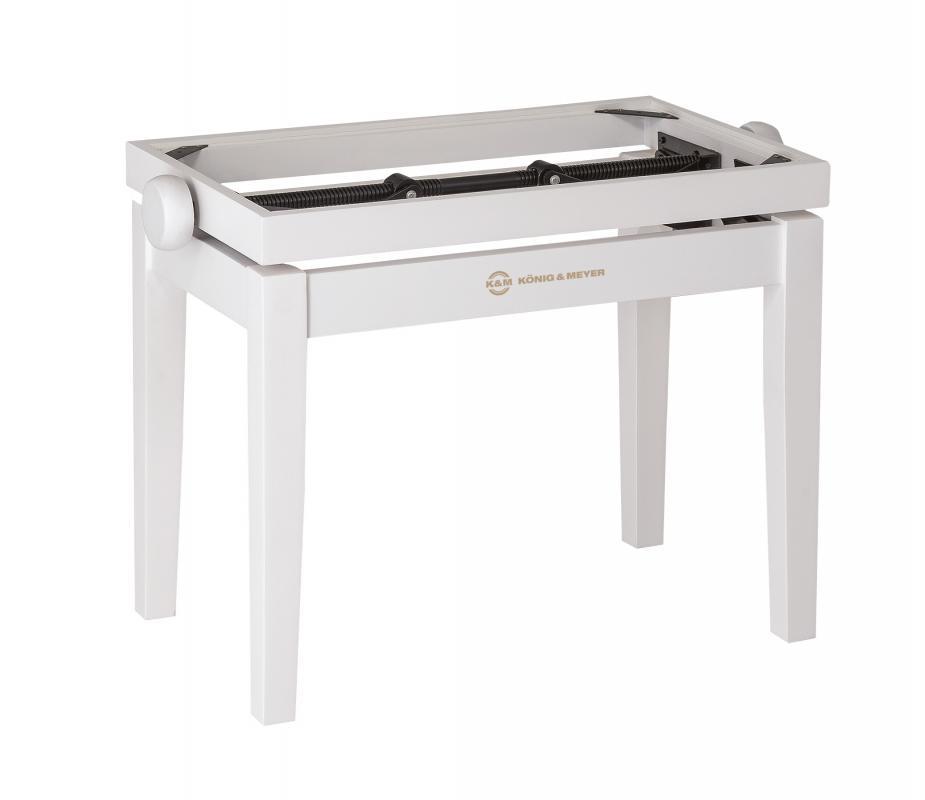 13710 Klavierbank-Unterteil Weiß